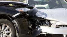 Car accident. (iStockphoto)