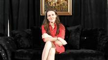 "Liz Murray is the ""homeless to Harvard"" author/motivational speaker/Oprah guest woman. She is speaking at the Vancouver Club as part of the Bon Mot book club on Monday night. (Laura Leyshon for the Globe and Mail/Laura Leyshon for the Globe and Mail)"