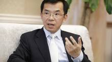 The new Chinese ambassador to Canada, Lu Shaye, told The Globe and Mail that Beijing was seeking unfettered access by Chinese businesses, including state-owned enterprises, to all sectors of the Canadian economy. The Liberal government has not indicated that it would allow Chinese firms access to proprietary technology and other assets that could compromise national security. (Blair Gable/Photograph by Blair Gable)