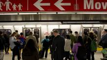 Transit generated a fierce political storm this year. (Peter Power/The Globe and Mail)