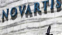 A new study released Saturday, Aug. 30, 2014, shows an experimental Novartis drug, which does not have a name, lowered the chances of death or hospitalization by about 20 percent. (Rafiq Maqbool/Associated Press)