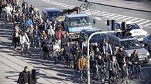 Copenhagen's bicycle-friendly streets are often used as a model for other cities around the world. (Copenhagenize Design Co.)