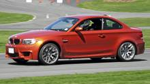 2011 BMW 1-Series M Coupe (Richard Russell for The Globe and Mail)
