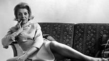 Gerda Munsinger is shown in this March 15, 1966 file photo. Munsinger, an alleged spy for Russiaês KGB, shared the bed of Conservative defence minister Pierre Sevigny for three years at the end of the 1950s - a troubling arrangement that was brought to the attention of prime minister John Diefenbaker, who quietly buried it. (CP Picture Archive/CP/CP Picture Archive/CP)