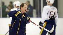 The Buffalo Sabres have hired Phil Housley as their new coach, the club announced Thursday, June 15, 2017. (Mark Humphrey/AP)