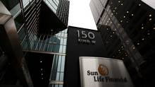 The Sun Life Financial building in Toronto on Thursday, March 8, 2012. (Michelle Siu for The Globe and Mail)