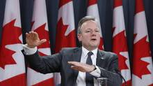 Bank of Canada Governor Stephen Poloz speaks during a news conference upon the release of the Monetary Policy Report in Ottawa January 22, 2014. (CHRIS WATTIE/REUTERS)