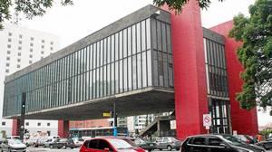 The Museo de Arte de Sao Paulo, designed by Lina Bo Bardi in the 1960s.