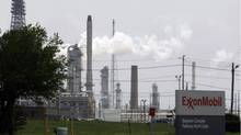The Exxon Mobil refinery in Baytown, Tex. (PAT SULLIVAN/ASSOCIATED PRESS)