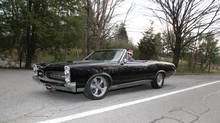 The wind blasts you from all directions in the 1967 Pontiac GTO. (Peter Cheney/The Globe and Mail)