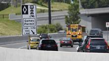 "Toronto chief planner Jennifer Keesmaat noted that HOV lanes are ""always empty when first implemented. Drivers then see them as an alternative, and change travel behaviour to access them."" (Fred Lum/The Globe and Mail)"