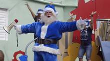 A screenshot from WestJet's latest Christmas ad campaign. (Screenshot/YouTube)