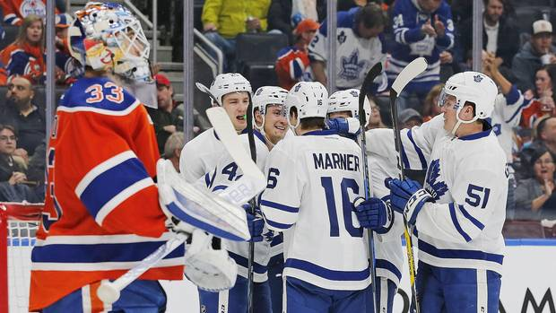 Matthews Gets His 10th And McDavid Pads Scoring Lead As Maple Leafs Topple Oilers 4-2