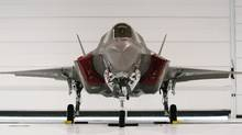 The government told us the Joint Strike Fighter was the only adequate plane, which is awkward now that it needs to consider other options (Reuters)