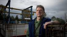 Tax flip-flop means more time and paperwork for Lawrence Alder of International Marine Floating Systems in Delta, B.C. (Ben Nelms/The Globe & Mail)