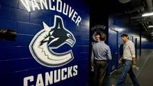 Vancouver Canucks' goalie Roberto Luongo (DARRYL DYCK/The Canadian Press)