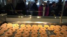 Krispy Kreme has made a resurgence since 2009, and same-store sales have grown for the past 20 quarters. (Louie Palu/The Globe and Mail)