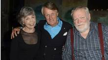 Jane Munro, Scott Griffin, Michael Longley. (Tom Sandler)