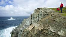 Tourists take in the scenery at Crow Head near Twillingate, Nfld. (Kevin Van Paassen/The Globe and Mail)