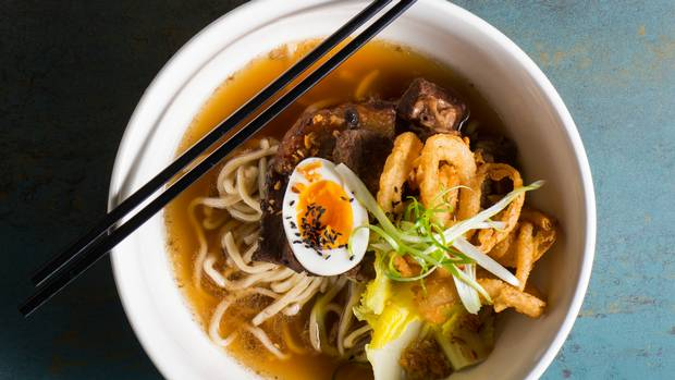 The hip-hop soundtrack makes Calgary's Oohmami a fun place for a date.