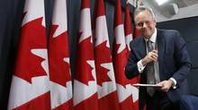 Stephen Poloz's guidance for a rate change suggests there will be no movement for well over a year. (CHRIS WATTIE/REUTERS)