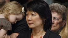 I applaud the dignity and grace that [Jack Layton], Ms. Chow and his friends and family have shown. In turn, should we not offer them respect and understanding? (REUTERS)