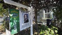 Sales in the Greater Toronto Area fell 21 per cent from a year ago, according to that region's real estate board. But prices are higher than they were last September. (Fred Lum/The Globe and Mail)