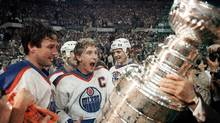 On Hockey DB, a dive into the depths of something as simple as a spelling mistake can yield humorous returns, such as the difference between Wayne Gretzky, the Great One, and Wayne Grotski, who played several seasons of Junior A in Edmonton in the 1970s. (Bill Grimshaw/CP)