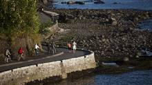 """The Comox-Helmcken Greenway connects Stanley Park to False Creek and is part of the city's City Greenway network. Some of the proposed changes include widened sidewalks, traffic calming measures and places for people to """"garden, sit and socialize,"""" according to the city's website."""