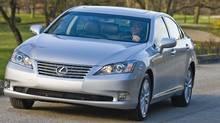 Lexus ES350 (Bill Petro/Toyota)