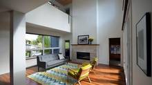 Living room and balcony. (Paul Stankey)
