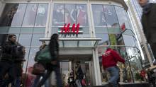 The H&M store in downtown Toronto, Ont. Dec. 6, 2010. (Kevin Van Paassen/The Globe and Mail)