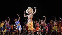 Jelani Remy plays Simba. (Joan Marcus/Mirvish)
