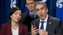 Quebec Finance Minister Nicolas Marceau. (Jacques Boissinot/THE CANADIAN PRESS)