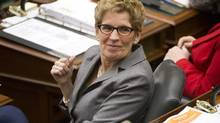 Premier Kathleen Wynne's campaign team made it clear higher taxes to pay for transportation was a tough sell. (Kevin Van Paassen/The Globe and Mail)