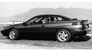 Subaru SVX: The eye-catching window-within-a-window design of the Subaru SVX offers good aerodynamics, a good view and, when open, the smaller window means riders aren't as buffeted by wind. However, the car was taken off the market after just four years.