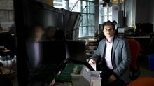 Ali Ghafour, founder and chief technology officer of Viafoura Inc. (Kevin Van Paassen/The Globe and Mail)