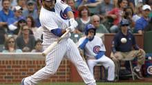 Chicago Cubs' Dioner Navarro (Charles Rex Arbogast/The Associated Press)