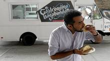 Suresh Doss, the organizer of the Food Truck Eats events. (Fernando Morales/The Globe and Mail/Fernando Morales/The Globe and Mail)
