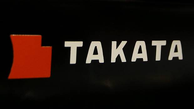 Takata files for bankruptcy, overwhelmed by air bag recalls - The Globe and Mail