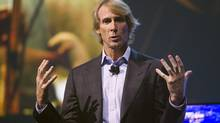 Hollywood director Michael Bay speaks during a Samsung Electronics news conference during the Consumer Electronics Show (CES), in Las Vegas, Nevada, January 6, 2014. (STEVE MARCUS/REUTERS)