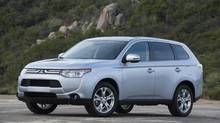 The 2014 Mitsubishi Outlander GT is the equal of any compact crossover when dealing with city traffic, highway speeds and unpaved roads. (Mitsubishi)