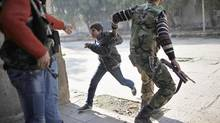 As least 50 bodies are reported to have been found tortured in Syria. (AHMED JADALLAH/REUTERS)