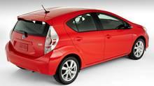 2012 Prius C (Bill Petro/Toyota)