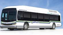 Ballard Power Systems' HD6 Fuel Cell Bus Module for 2010 Olympic Fuel Cell Bus Fleet. (CNW Group/Ballard Power Systems Inc.) (Hand-Out/BALLARD POWER SYSTEMS INC. handout)
