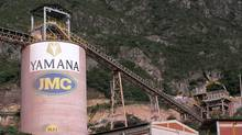Yamana Gold's Jacobina Mine in northern Brazil. Yamana has announced the second increase this year to its dividend. Yamana Gold (YAMANA GOLD)