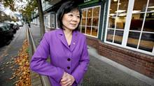 Ida Chong, MLA for Oak Bay - Gordon Head in Victoria, BC, poses for photographs along Oak Bay Avenue, Nov. 18, 2010. (Deddeda Stemler for the Globe and Mail/Deddeda Stemler for the Globe and Mail)