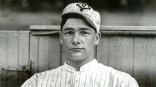 """An image from """"The Big Show: Charles M. Conlon's Golden Age Baseball Photographs,"""" by Neal McCabe and Constance McCabe"""