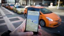 Uber is popular across North America but its entry into the Vancouver market and elsewhere in the province remains stalled. (DARRYL DYCK For The Globe and Mail)
