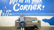 'Until we get to equilibrium and virtuous cycle when we've got a bunch of success stories ... we're still not at the halfway point yet,' says Mike McDerment, founder of FreshBooks. (Darren Calabrese For The Globe and Mail)